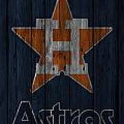 Houston Astros Art Print