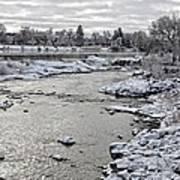 Idaho Falls Art Print