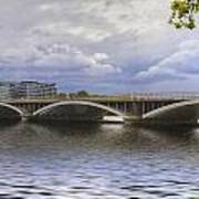London Thames Bridges  Art Print