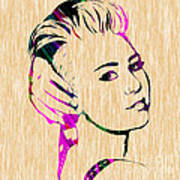 Miley Cyrus Collection Art Print