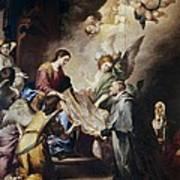 Murillo, Bartolom� Esteban 1617-1682 Art Print