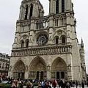 Notre Dame In Paris France Art Print