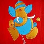 12 Shubham - Auspicious Ganesha Art Print