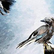 The Wintery Tales Art Print
