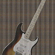 12 Thousand Electric Guitars Art Print