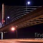 Veterans Glass City Skyway Bridge Art Print