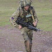 Welsh Guards Training Art Print