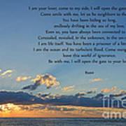 129- Rumi Art Print