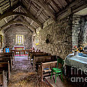 12th Century Chapel Print by Adrian Evans