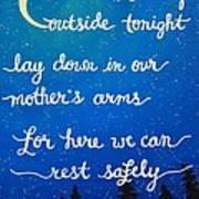 12x16 Dmb So Let Us Sleep Outside Tonight Art Print