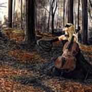 13 Autumns And A Widow Art Print