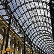 Hay's Galleria London Art Print