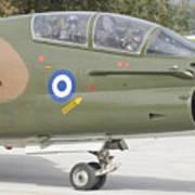 Hellenic Air Force Ta-7 Corsair II Art Print