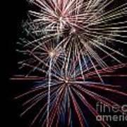 Local Fireworks Art Print by Mark Dodd