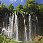 Plitvice Lakes National Park Croatia Art Print