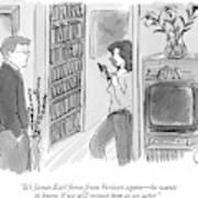 It's James Earl Jones From Verizon Again - Art Print