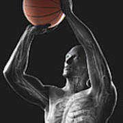 Basketball Shot Art Print