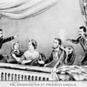 Lincoln Assassination Art Print