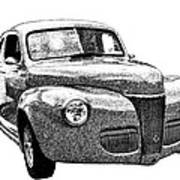 1941 Ford Coupe Art Print