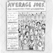 Average Joes Art Print