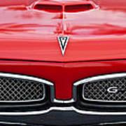 1967 Pontiac Gto Grille Emblem Art Print