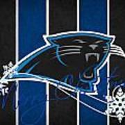 Carolina Panthers Art Print