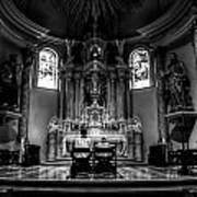 Church Of Saint Agnes Art Print