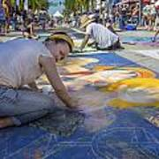 Lake Worth Street Painting Festival Art Print
