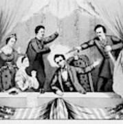 Lincoln Assassination Art Print