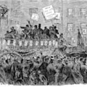 Presidential Campaign, 1864 Art Print