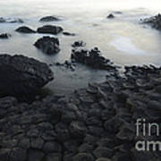 The Giants Causeway Art Print