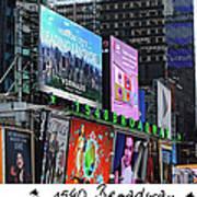 1540 Broadway Art Print