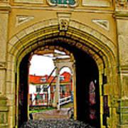 1540 Entrance To Enkhuizen-netherlands Art Print