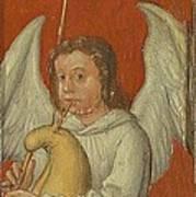 15th Century Angel Painting 6 Art Print