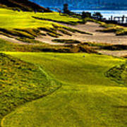 #16 At Chambers Bay Golf Course - Location Of The 2015 U.s. Open Tournament Art Print