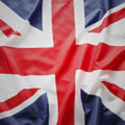 British Flag 23 Art Print