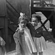 Chicago Children, 1941 Art Print