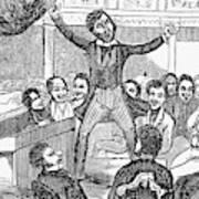 Davy Crockett (1786-1836) Art Print