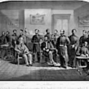 Lee's Surrender, 1865 Art Print