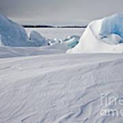 Pack Ice, Antarctica Art Print