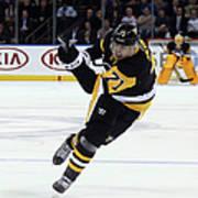Pittsburgh Penguins V New York Rangers Art Print