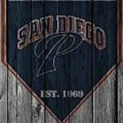 San Diego Padres Art Print