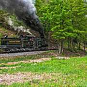 Cass Scenic Railroad Art Print