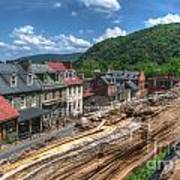 Hdr - Harpers Ferry Art Print