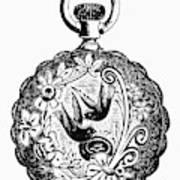 Pocket Watch, 19th Century Art Print
