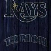 Tampa Bay Rays Art Print