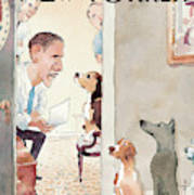 New Yorker December 8th, 2008 Art Print