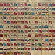 1783 World Naval Flags Art Print