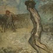 Greek Shepherd And Maiden Art Print