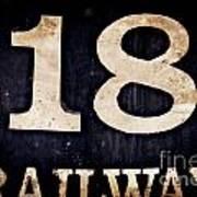 18 Railway Art Print